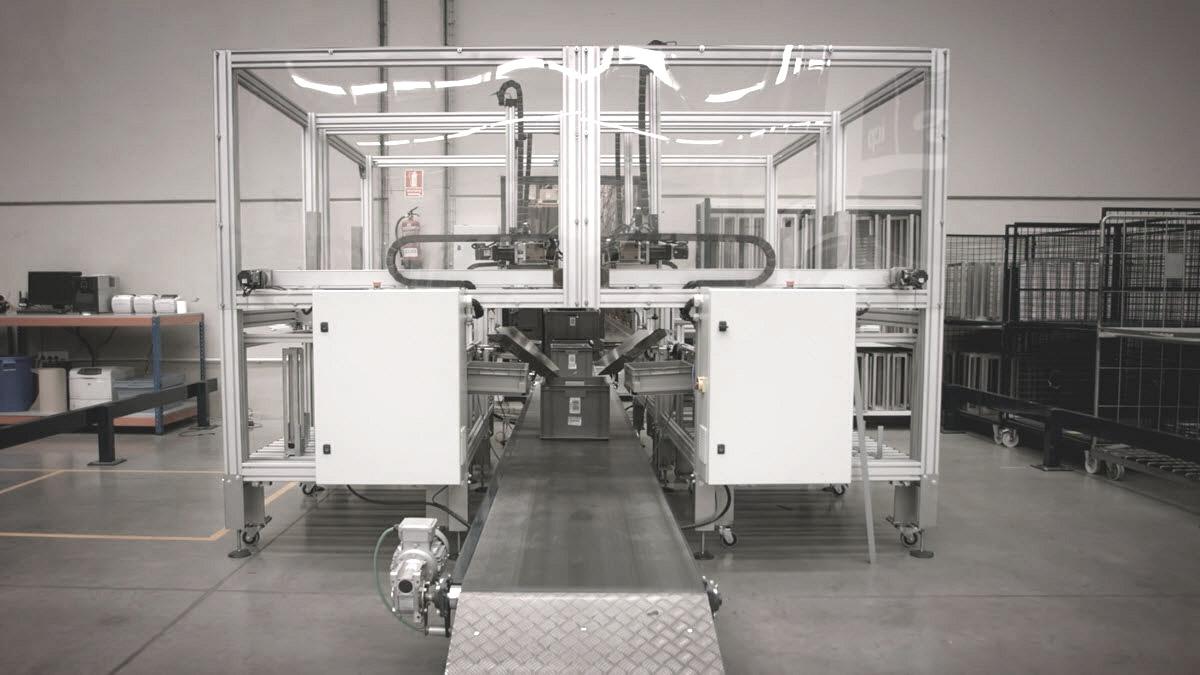 Automatismos da ICP Logística: Sistema de Picking Automático de Cartões
