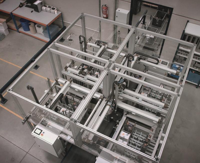 Almacén automatizado en ICP